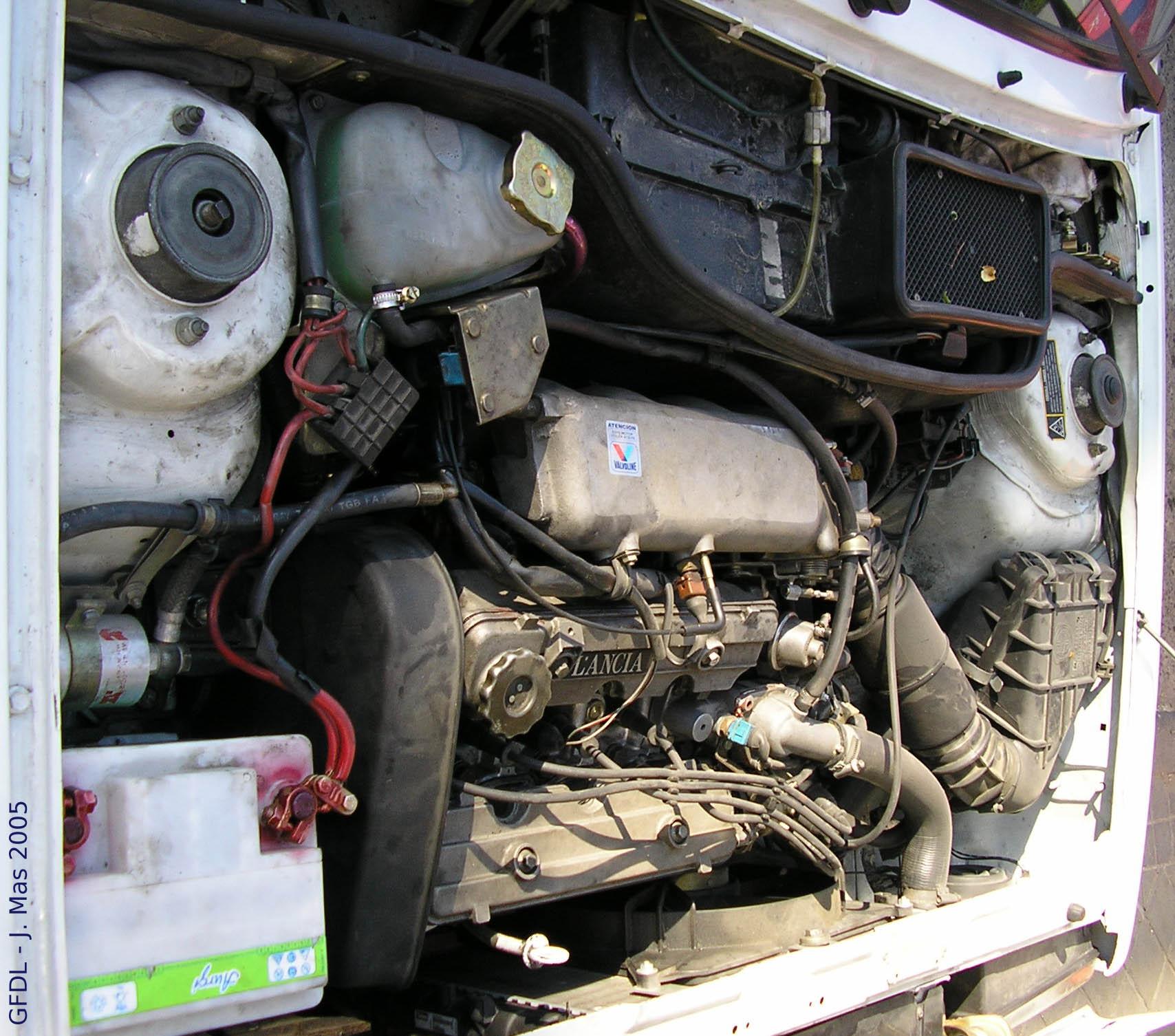 LANCIA Y engine