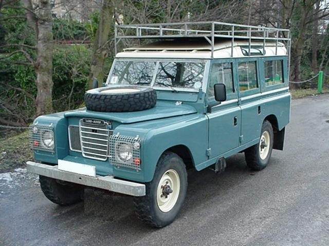 land rover series ii review and photos. Black Bedroom Furniture Sets. Home Design Ideas