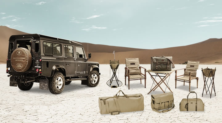 LAND ROVER 110 brown