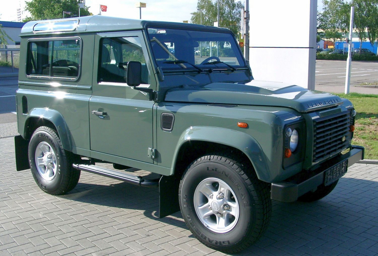 land rover wallpaper (Land Rover Defender)