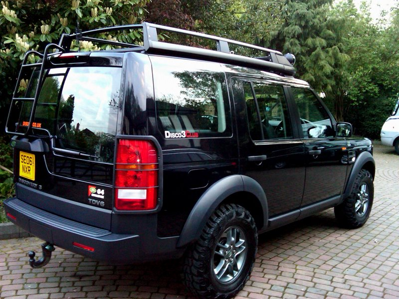 LAND ROVER DISCOVERY 2 G4 black