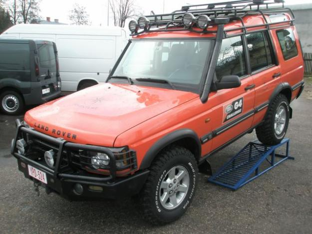 LAND ROVER DISCOVERY 2 G4 brown
