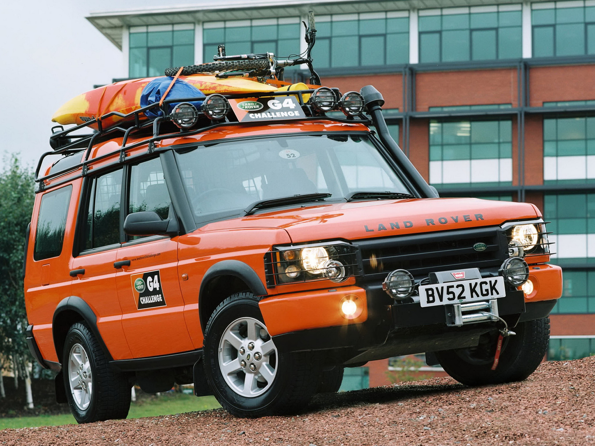 Land Rover Discovery 2 >> Land Rover Discovery 2 G4