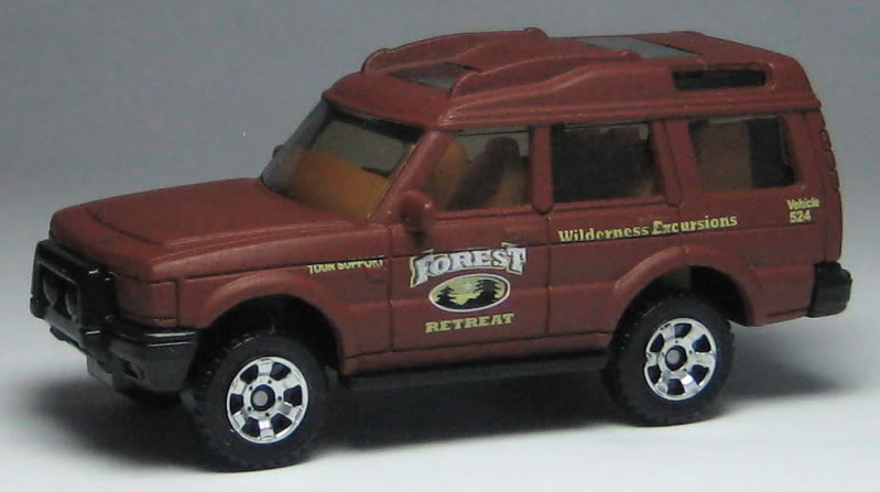 LAND ROVER DISCOVERY brown