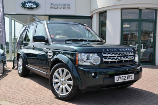 LAND ROVER DISCOVERY green