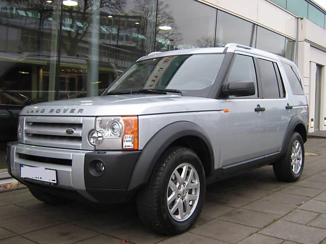 LAND ROVER DISCOVERY silver
