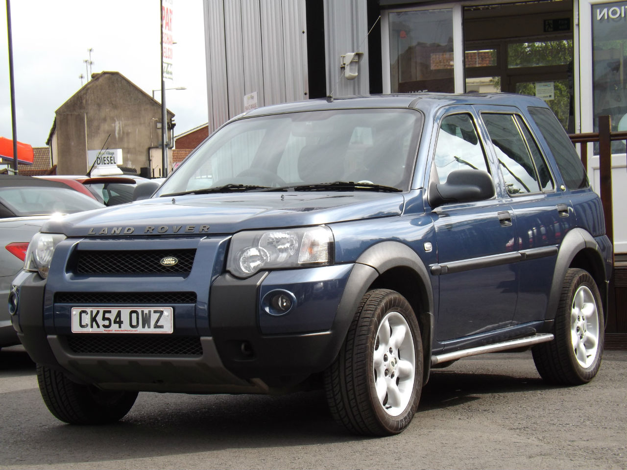 LAND ROVER FREELANDER 1.8 black