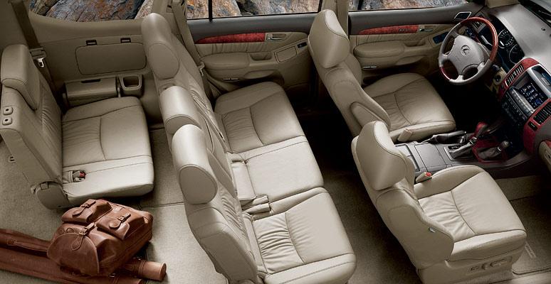 LEXUS 470 interior