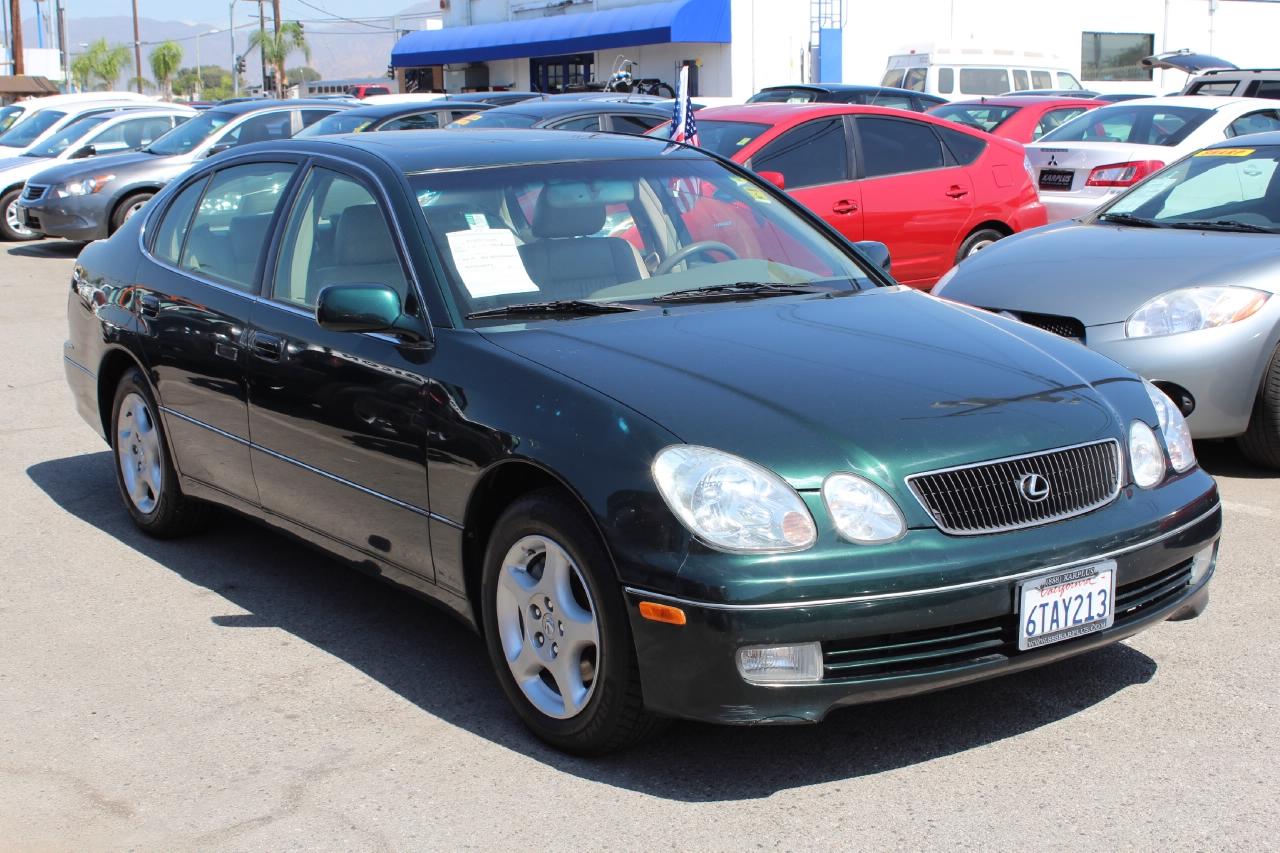 LEXUS GS 300 green