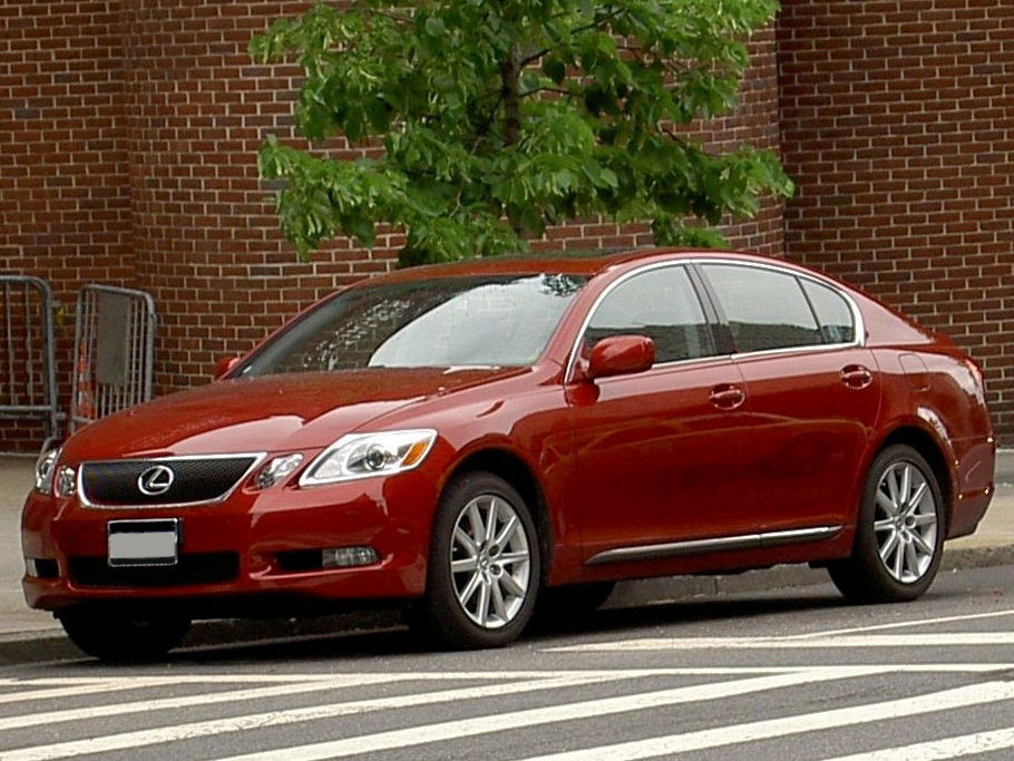 LEXUS GS 300 red