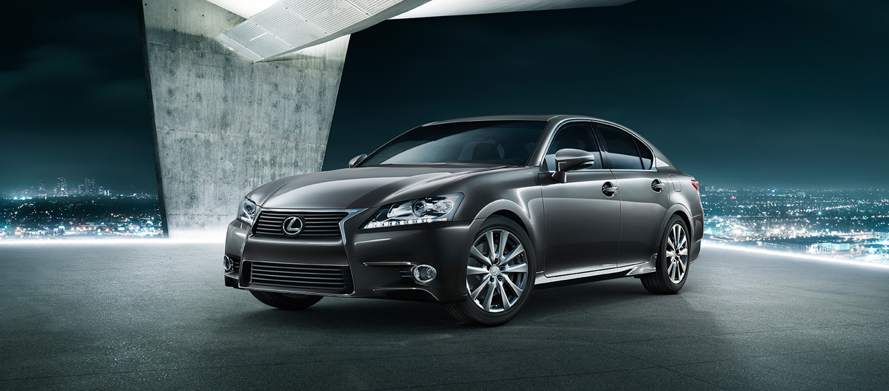 LEXUS GS brown