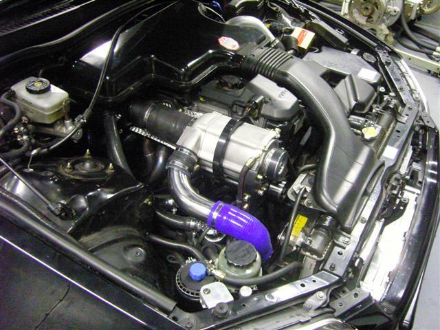LEXUS IS 200 engine