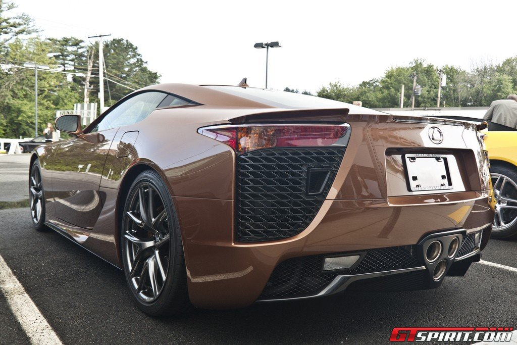 LEXUS LFA Brown