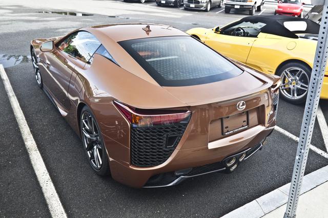 LEXUS LFA brown