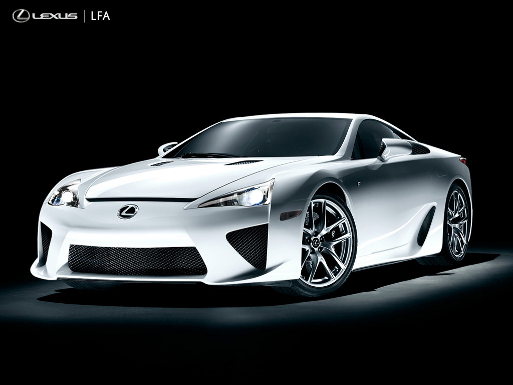 LEXUS LFA silver