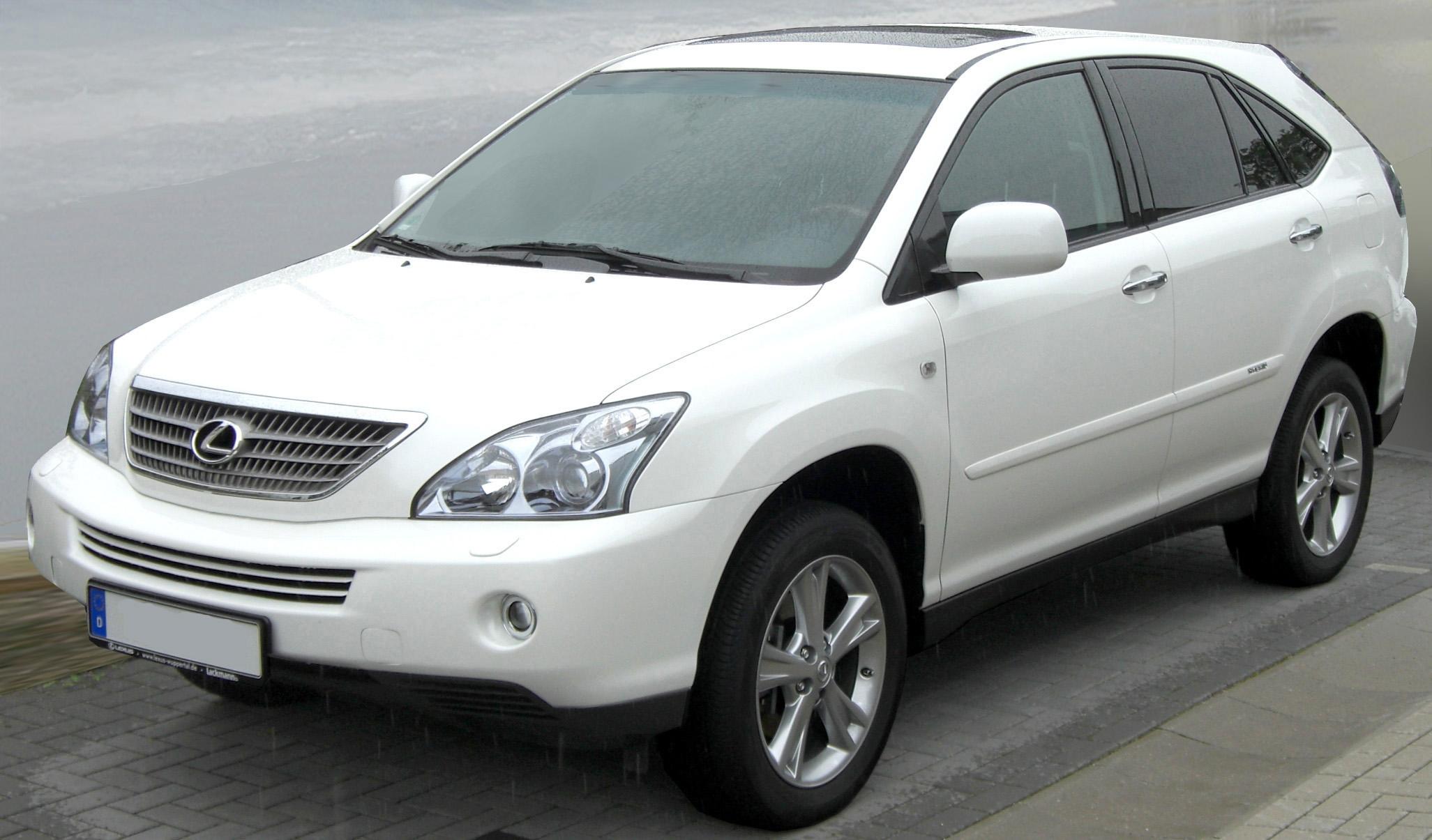 LEXUS RX 270 white