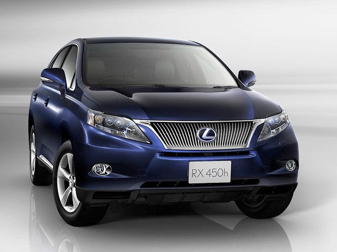 LEXUS RX blue