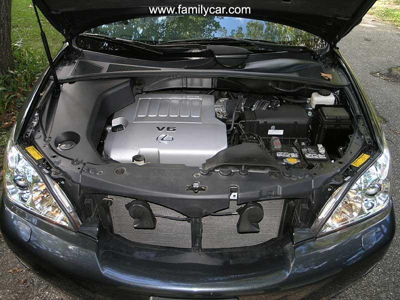 LEXUS RX engine
