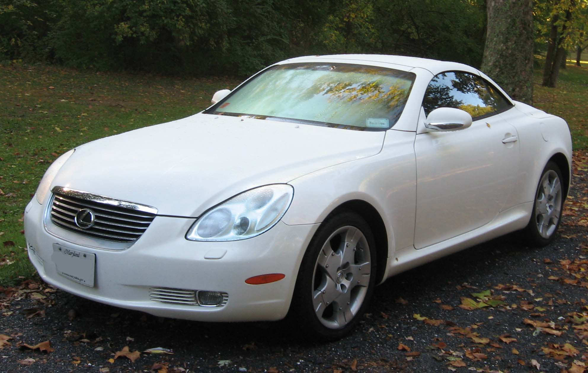 LEXUS SC Review and photos