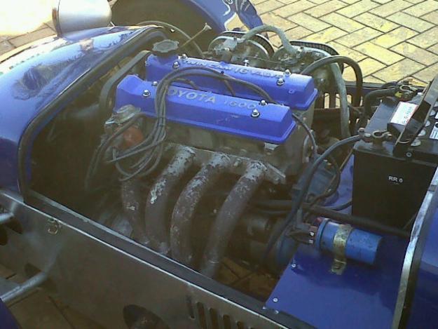LOTUS 7 engine