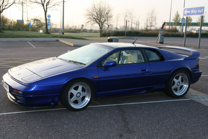 LOTUS ESPRIT blue