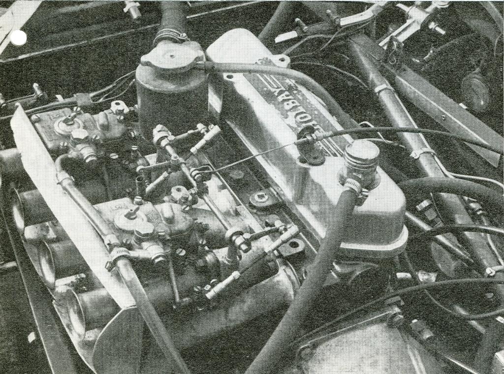 LOTUS SEVEN engine