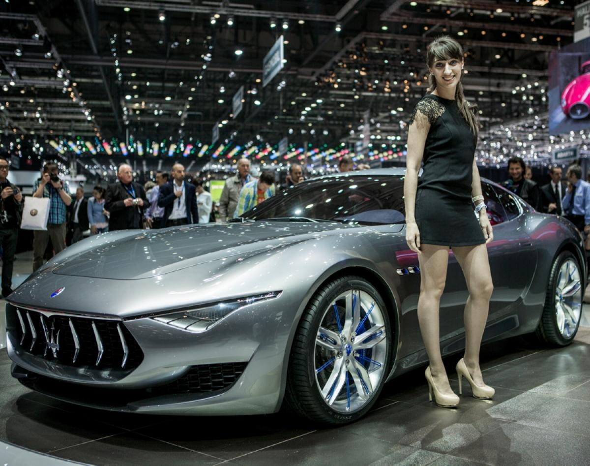 maserati gearing to show off new alfieri at 2014 geneva motor show. Black Bedroom Furniture Sets. Home Design Ideas