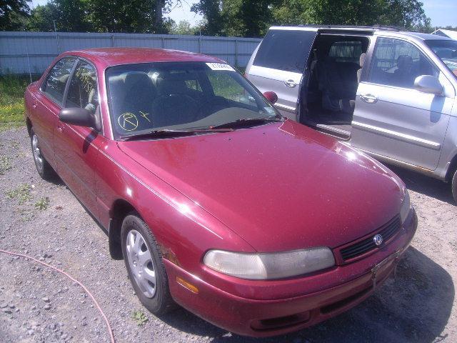 MAZDA 626 red