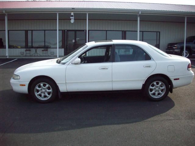 MAZDA 626 white