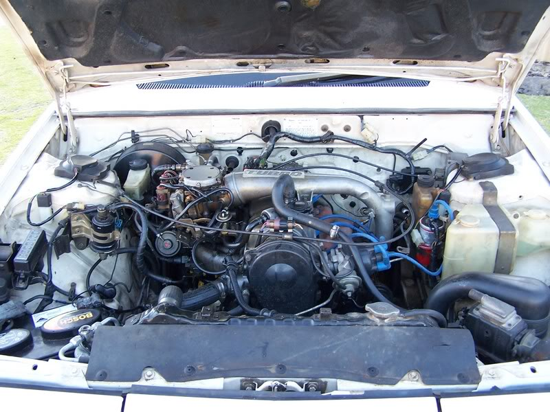 MAZDA 929 COUPE engine