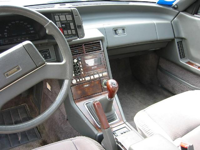 MAZDA 929 interior