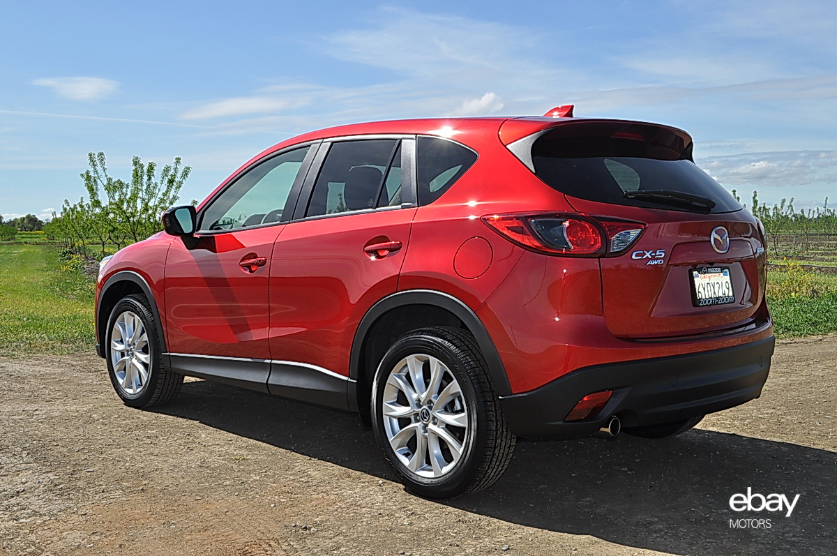 MAZDA CX-5 AT red