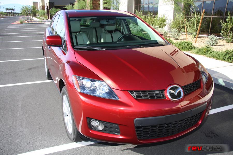 MAZDA CX-7 red