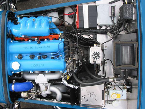 MAZDA MIATA engine