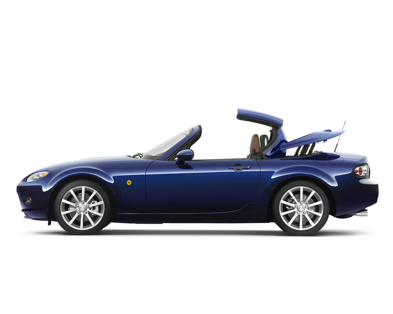 MAZDA MX-5 blue