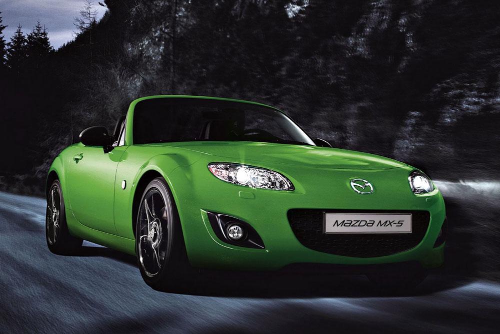 MAZDA MX-5 green