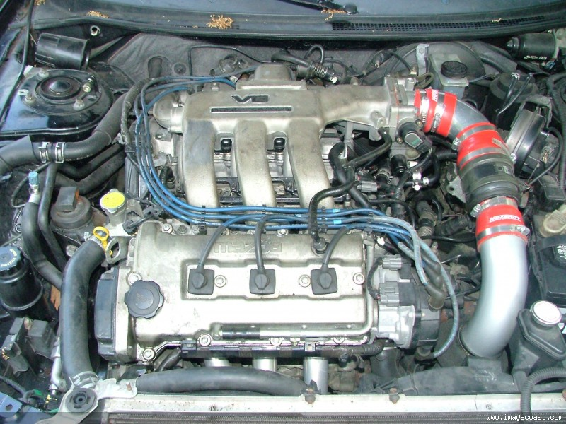 MAZDA MX-6 engine