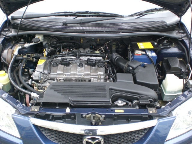 MAZDA PREMACY engine
