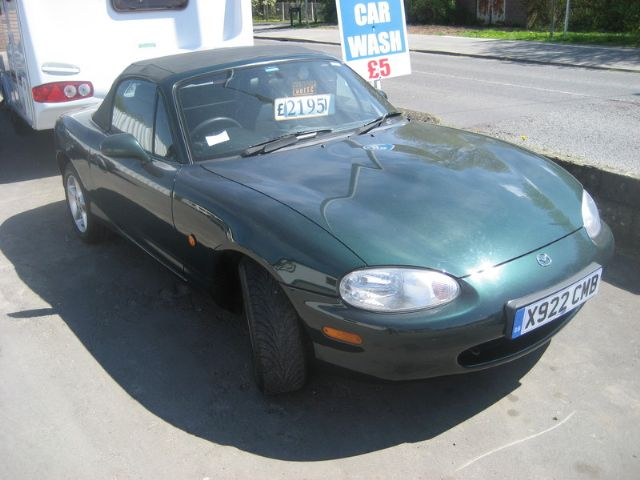 MAZDA RX-5 green