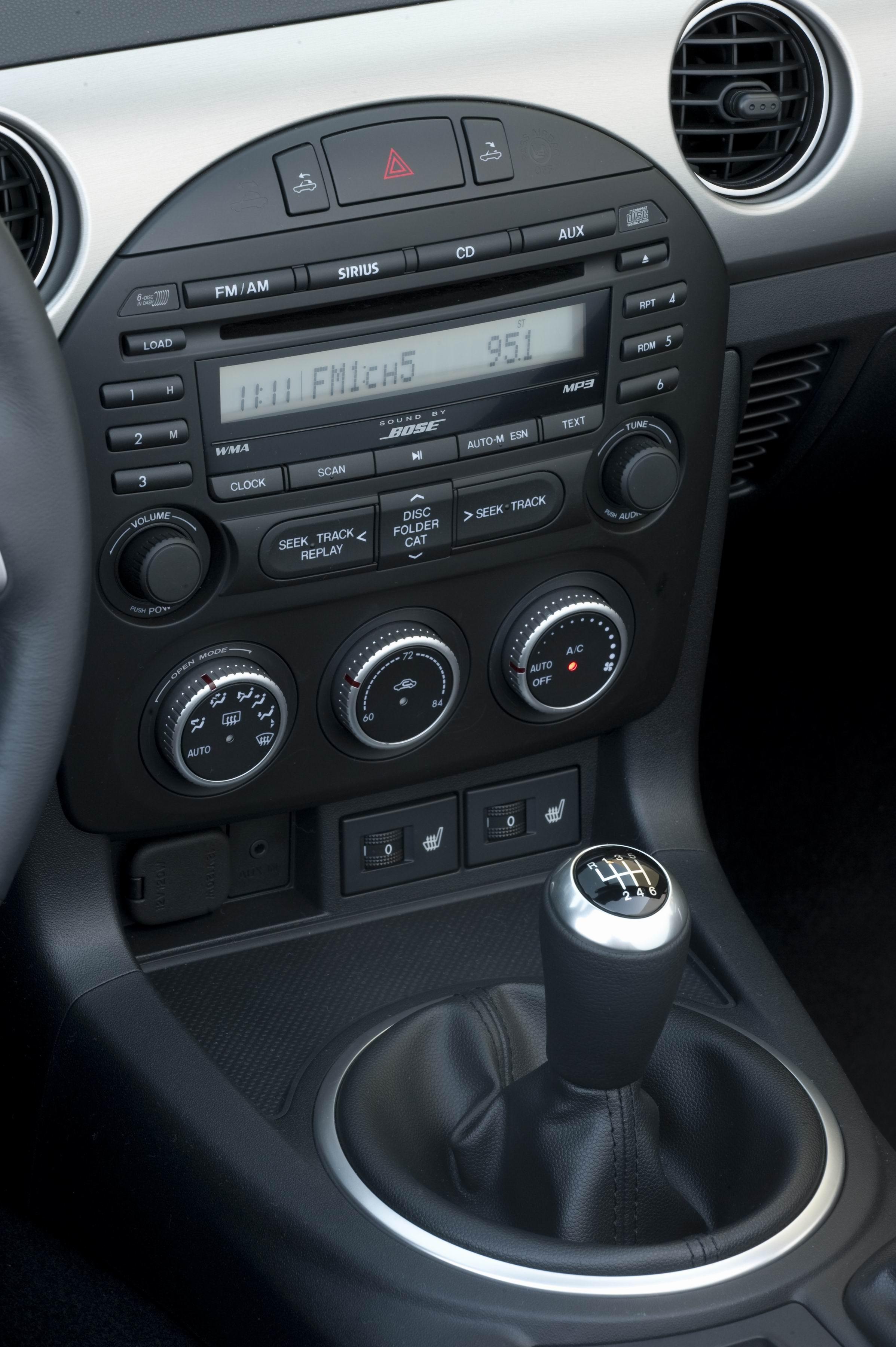 MAZDA RX-5 interior
