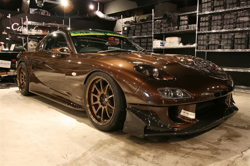 MAZDA RX-7 brown