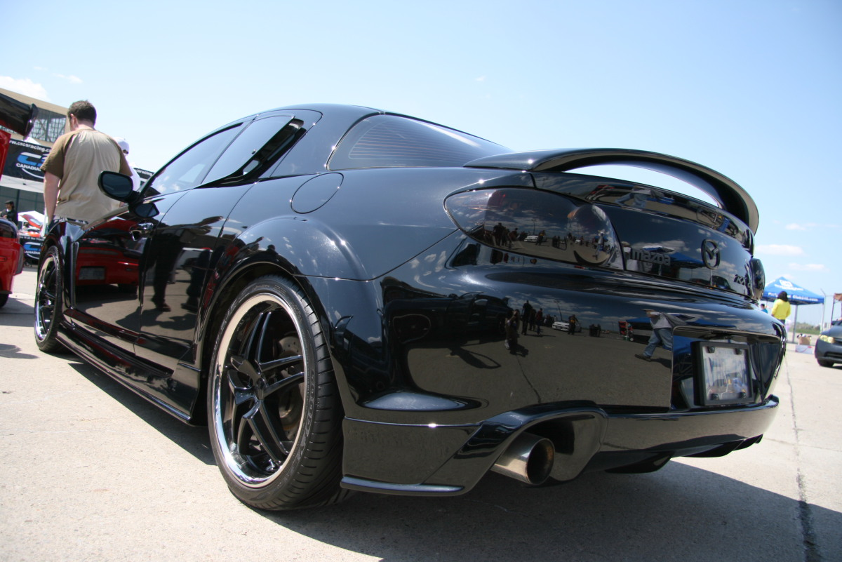 MAZDA RX-8 AUTOMATIC black