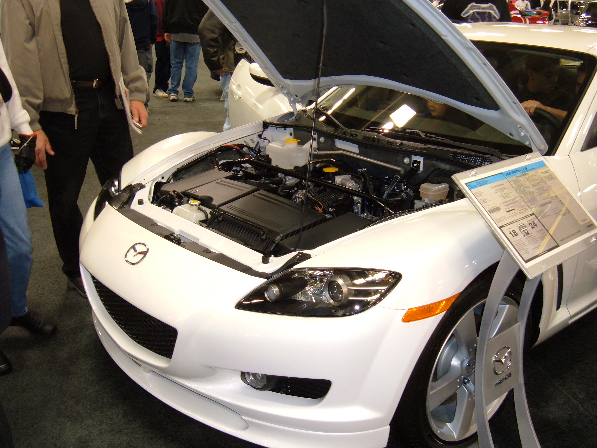 MAZDA RX-8 AUTOMATIC engine