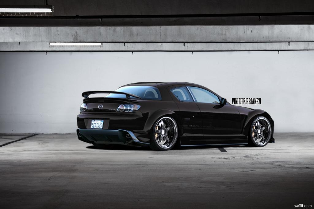 MAZDA RX-8 black