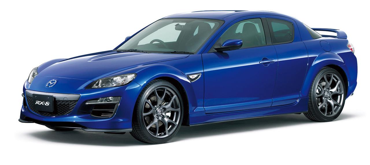 MAZDA RX-8 blue