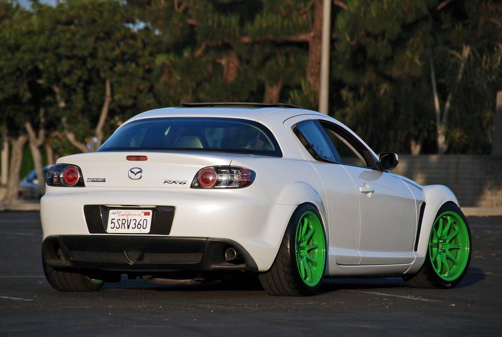 MAZDA RX-8 green