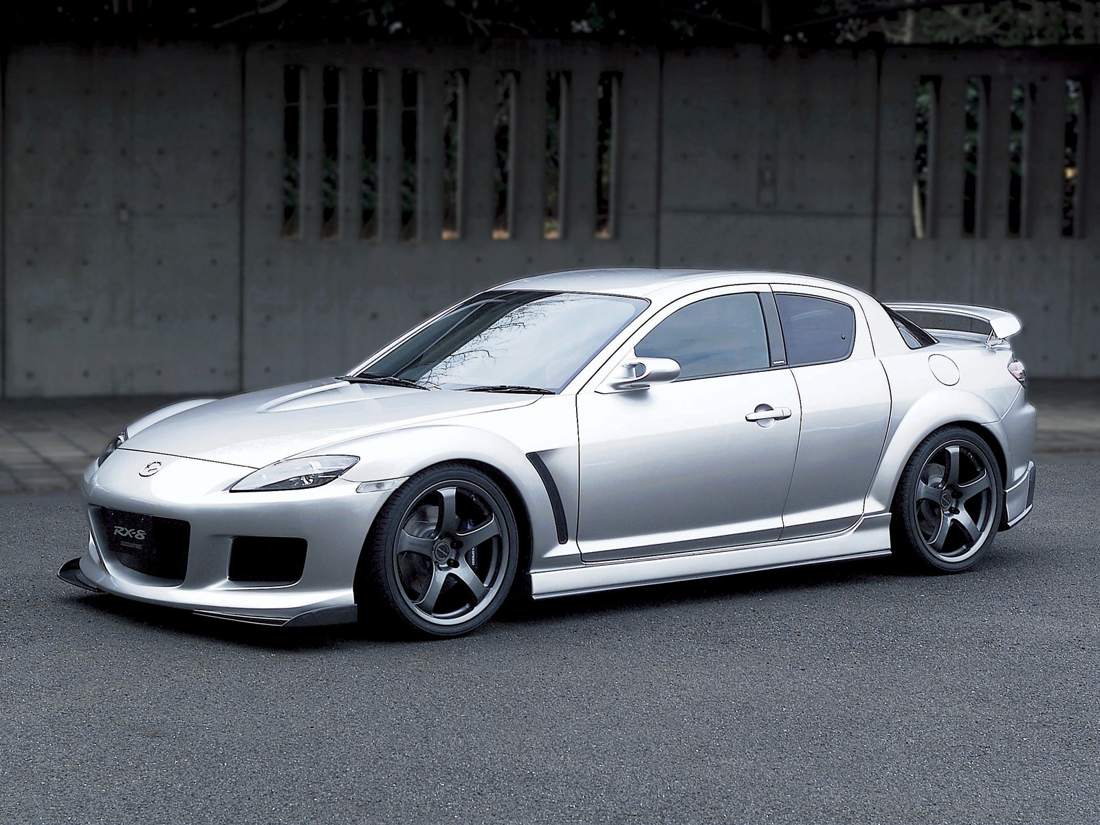 MAZDA RX-8 AUTOMATIC red