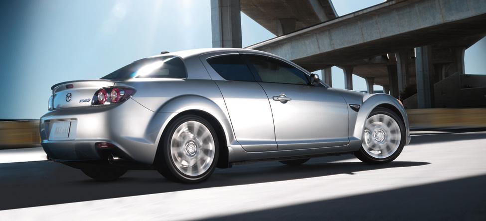 MAZDA RX-8 silver