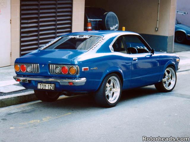 MAZDA RX2 blue