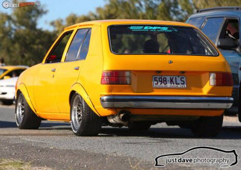 MAZDA RX2 brown